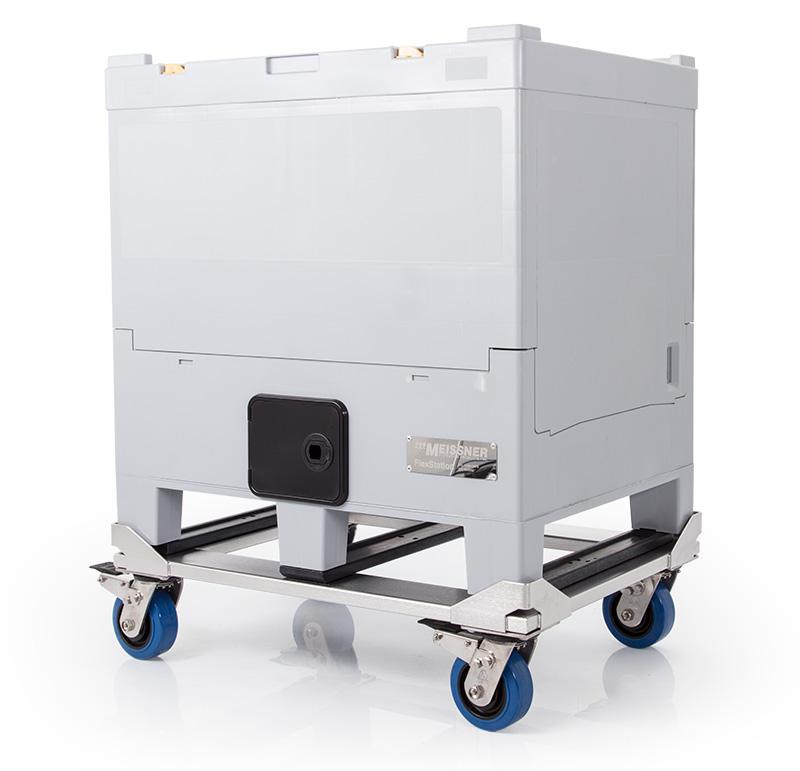 200 L FlexStation on Optional Rolling Cart