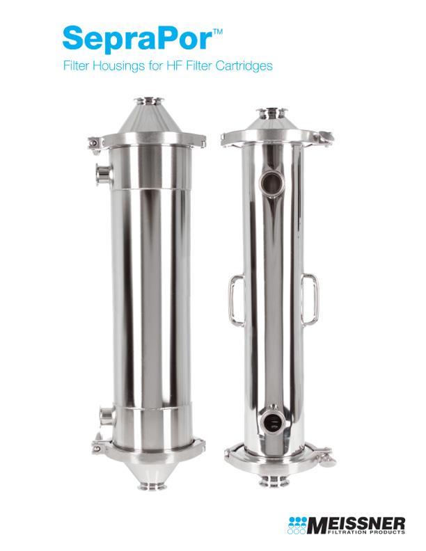 SepraPor™ Filter Housings for HF Filter Cartridges