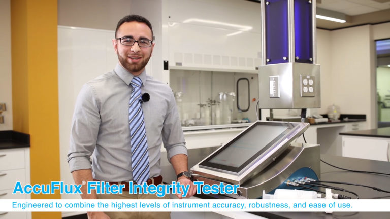 AccuFlux Integrity Tester Demo In Lab