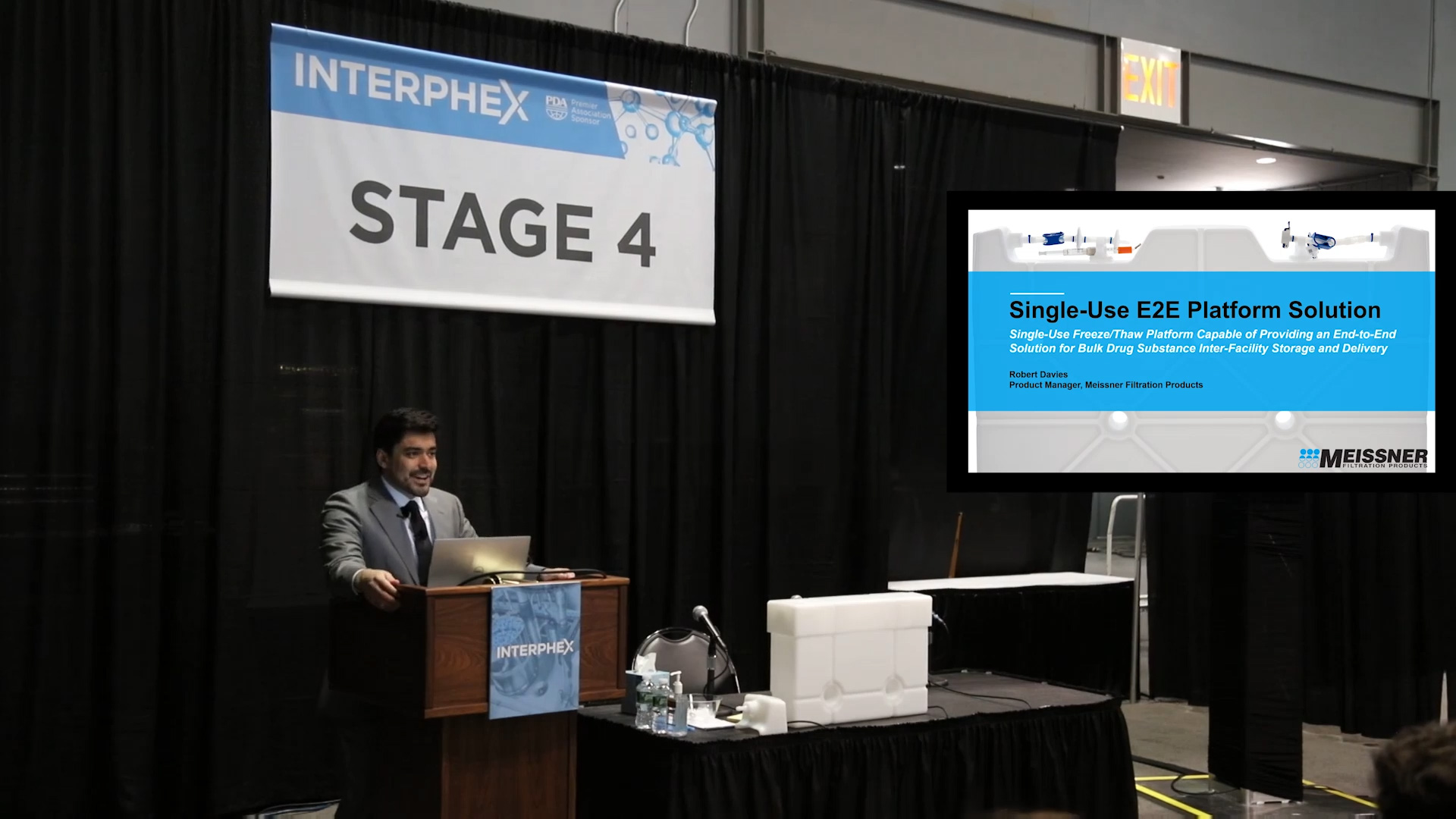 CryoVault Presentation at INTERPHEX 2019